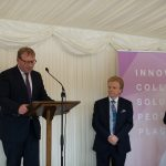 APPG for District Councils, June 2016 summer reception, Marcus Jones minister for local government DCLG, Cllr Neil Clarke chairman DCN, Mark Pawsey MP for Rugby and Bulkington