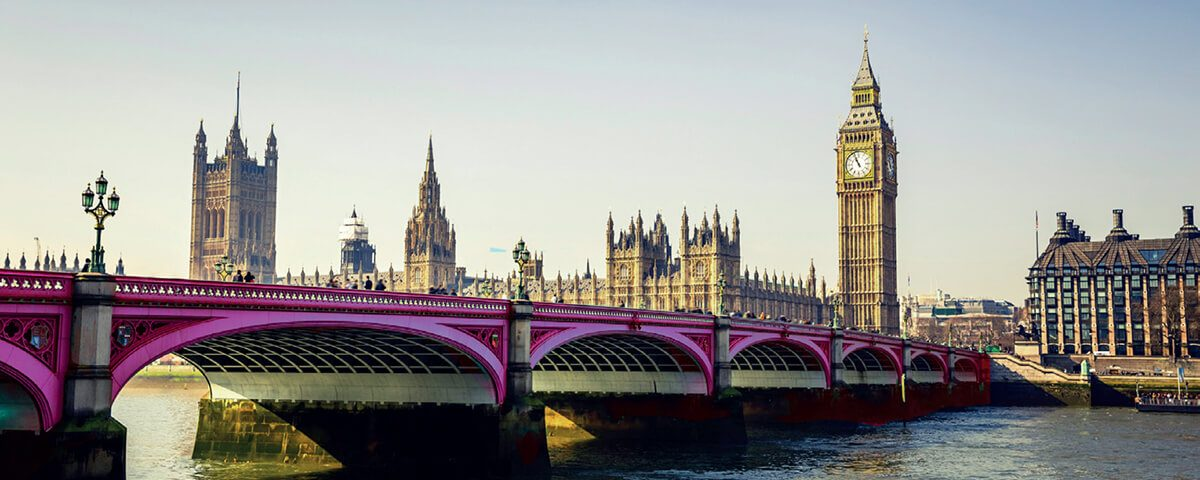 Houses of Parliament from Westminster Bridge district council influencing, All Party Parliamentary Group for District Councils