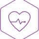 heart and pulse icon, DCN, health and wellbeing workstream